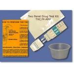 Drug Test | 03KTM | One 2 Substance Test Kit | THC/M-AMP