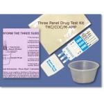 Drug Test | 01LKTCM | One 3 Substance Test | THC/COC/M-AMP