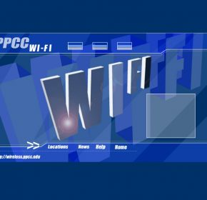 PPCC WiFi Promotional site