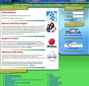 Student Website PPCC