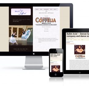 Ballet Ariel Website