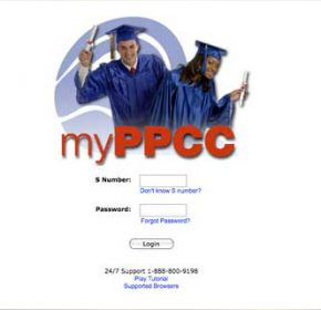 myPPCC portal shell graphics