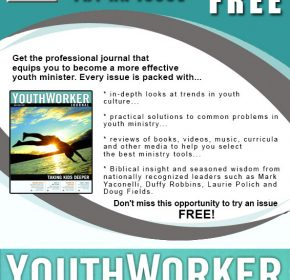 Youth Worker Magazine MailerAd